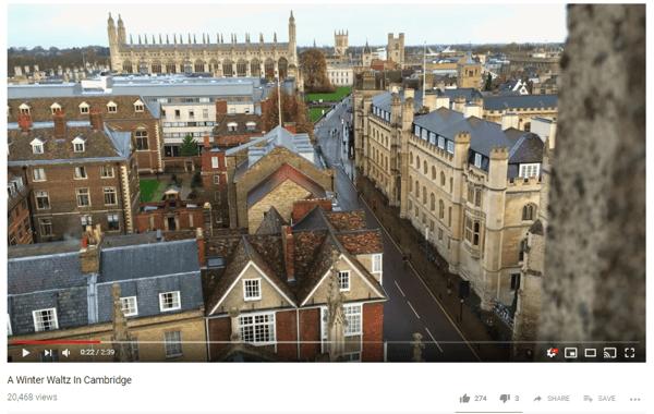 Cambridge Youtube