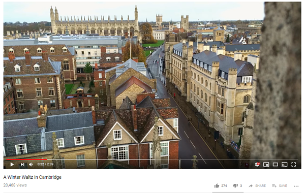 Cambridge Youtube