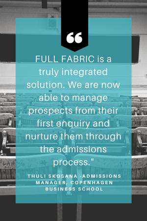 Copenhagen Business School Quote