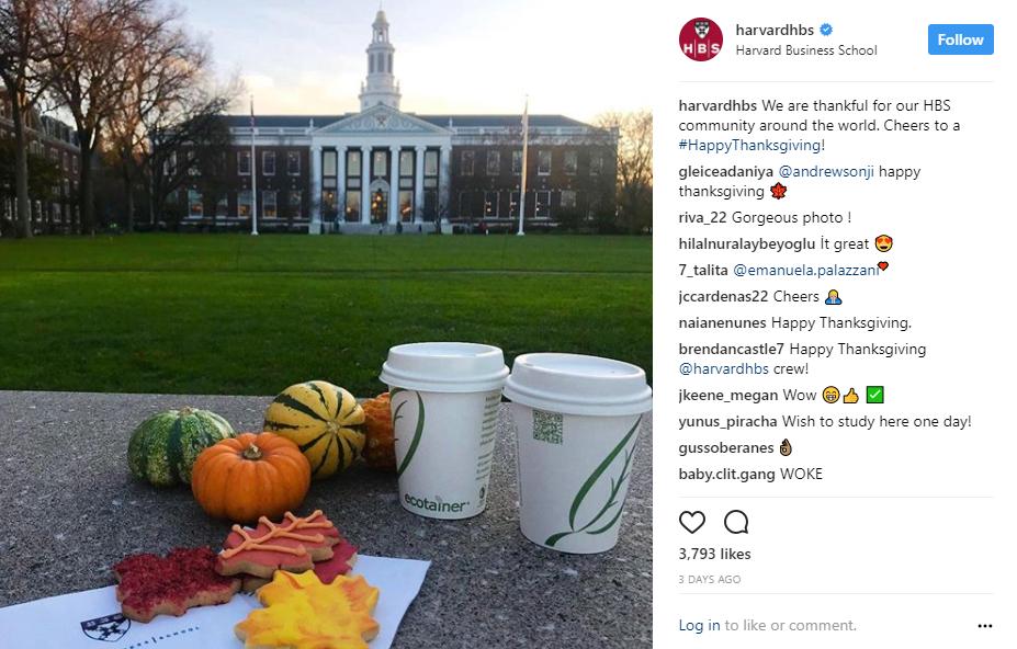 Harvard Social Media