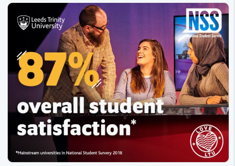 Leeds Trinity student satisfaction