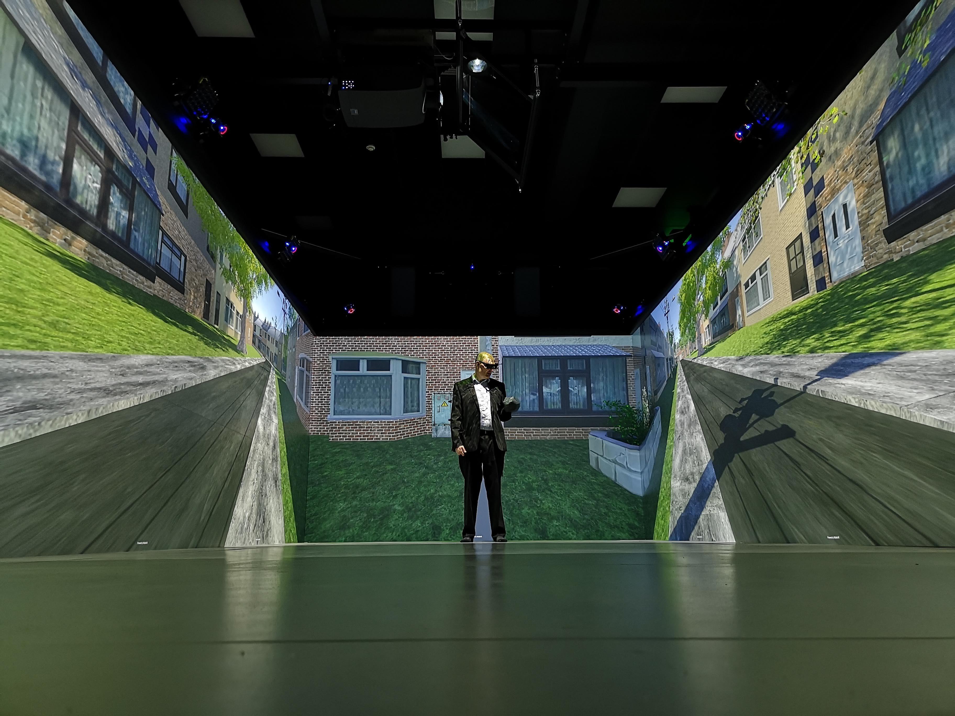 Pedestrian simulator - Leeds Centre for Immersive Technologies