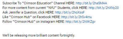 video blurb