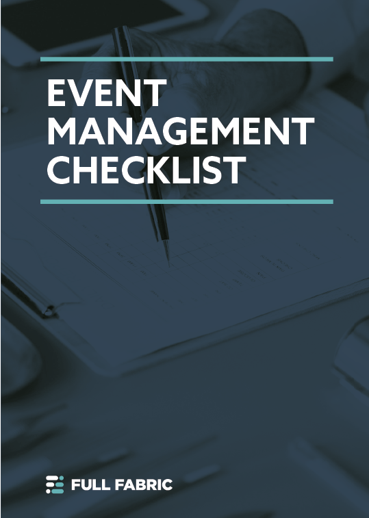 Download our free event management checklist for university admissions