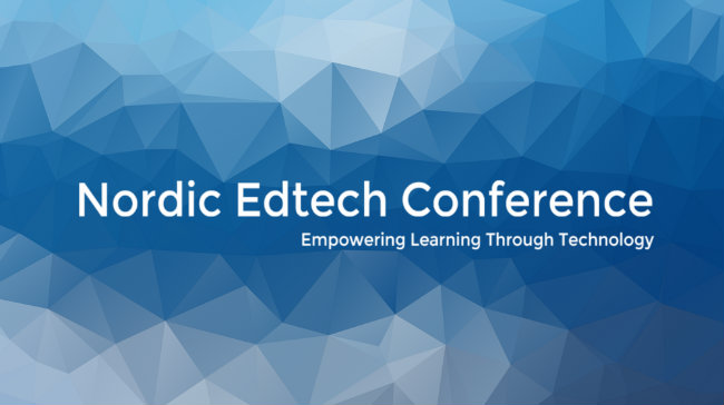 Looking ahead to the Nordic Edtech Conference
